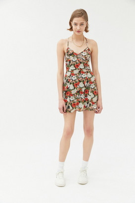 Urban Outfitters Harley Strappy Back Mini Dress