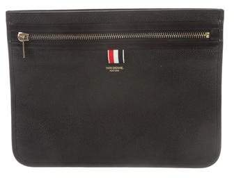 Thom Browne Leather Portfolio Case