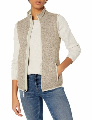 Charles River Apparel Women's Women's Pacific Heathered Sweater Fleece Vest