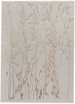 Bed Bath & Beyond MAT Alfalfa 5-Foot 2-Inch x 7-Foot 6-Inch Accent Rug in White