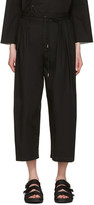 SASQUATCHfabrix. Black Wide Trousers