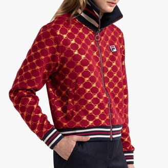 Fila Leridwen Printed Track Top with Pockets