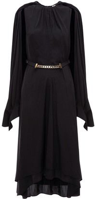 J.W.Anderson Cape Layered Dress
