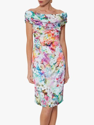 Gina Bacconi Saletta Floral Dress, Multi