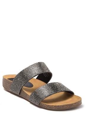 Rock & Candy Casha Jeweled Slide Sandal