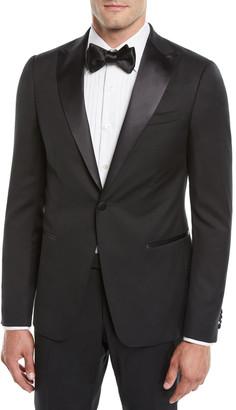 Ermenegildo Zegna Men's Satin-Lapel Tuxedo Suit