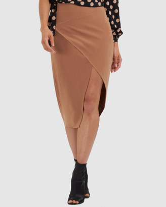 Amelius - Women's Nude Pencil skirts - Million Skirt - Size One Size, 14 at The Iconic