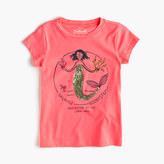 J.Crew Girls' Olive as a mermaid T-shirt