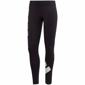 adidas Women's W 2Colorblock Cotton Tight - 7/8 Length Pants
