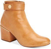 Calvin Klein Women's Josey Block-Heel Ankle Booties