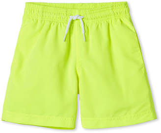 Stella Cove Boys' Neon Swim Trunks, 12M-10