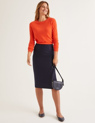 Boden British Tweed Pencil Skirt