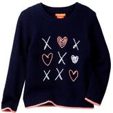 Joe Fresh Applique Knit Sweater (Toddler & Little Girls)