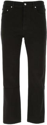 Saint Laurent Mid Rise Straight Jeans