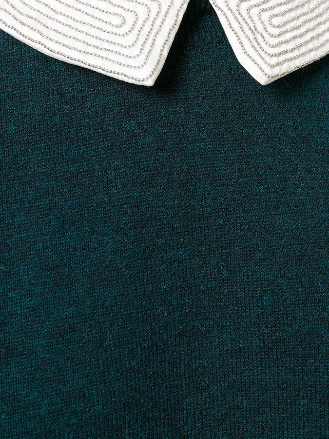 Steffen Schraut detachable collar jumper