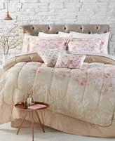 Jessica Sanders Repose Coral Reversible 12-Piece Queen Comforter Set