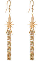 Dominique Cohen FINE JEWELRY dom by Gold-Tone Star & Tassel Earrings