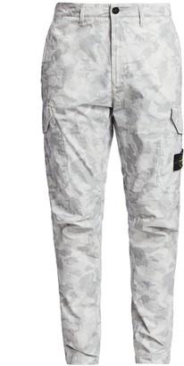 Stone Island Big Loom Camo Cargo Pants