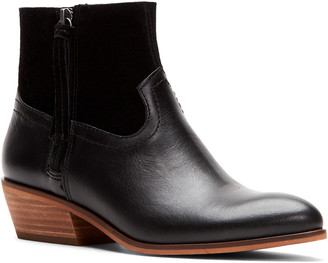 Frye Rubie Zip Leather & Suede Bootie