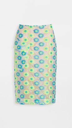 Essentiel Antwerp Vades Midi Pencil Skirt