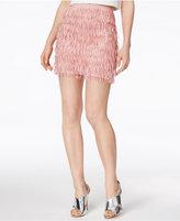 Mare Mare Bran Fringe Mini Skirt