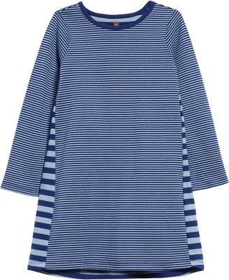 Tea Collection Stripe Double Knit Dress