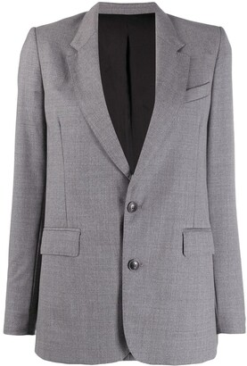 Ami Lined Two Buttons Blazer