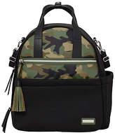 Skip Hop Nolita Camo Changing Backpack, Black