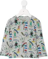 Stella McCartney Arlo Mutant print T-shirt
