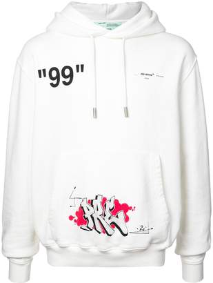 Off-White hooded sweatshirt