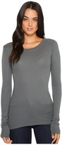 LAmade Long-Sleeve Crewneck Thermal Top Women's Long Sleeve Pullover