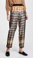 Giada Forte Printed Silk Pants