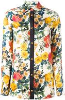 Fausto Puglisi floral print shirt - women - Silk - 38