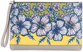 Furla Babylon floral print clutch - women - Leather - One Size