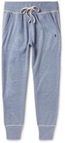 Polo Ralph Lauren Slim-fit Mélange Jersey Sweatpants - Blue