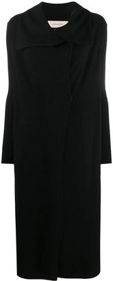 Gentry Portofino Wrap-Style Knitted Coat