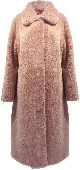 STAND - Pale Pink Gilberte Coat - 36