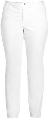 Lafayette 148 New York, Plus Size Curvy Slim-Leg Pant