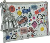Anya Hindmarch All Over Wink Stickers Georgiana Clutch