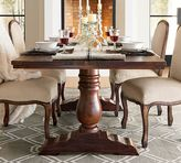 Pottery Barn Bowry Reclaimed Wood Fixed Dining Table