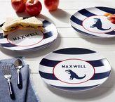 Pottery Barn Kids Navy Stripe Plates