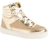 MICHAEL Michael Kors 'Ivy Mae' High Top Sneaker (Walker, Toddler, Little Kid & Big Kid)