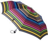 Totes Big Stripe Umbrella - Multicolor
