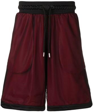 Marcelo Burlon County of Milan Mesh Basketball Shorts