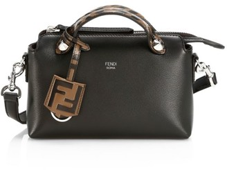 Fendi Mini By The Way Leather Satchel