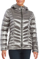 Calvin Klein Plus Short Packable Down Puffer Coat
