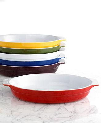 "Emile Henry Classics 14"" Oval Au Gratin Dish"
