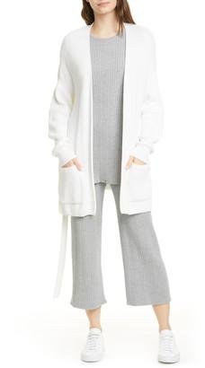 Max Mara Giusy Variegated Rib Crop Knit Pants