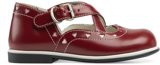 Gucci Toddler ballet flat with hearts