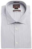 Black Brown 1826 Double Stripe Dress Shirt
